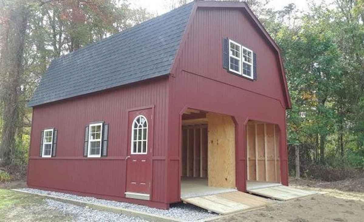 70 Suprising Small Log Cabin Homes Design Ideas (45)