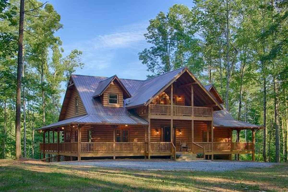 75 Great Log Cabin Homes Plans Design Ideas (14)
