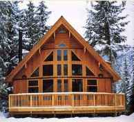 75 Great Log Cabin Homes Plans Design Ideas (2)