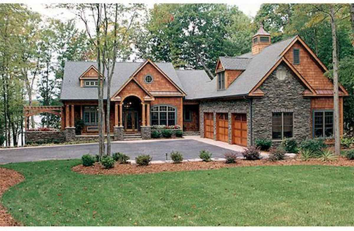 75 Great Log Cabin Homes Plans Design Ideas (24)