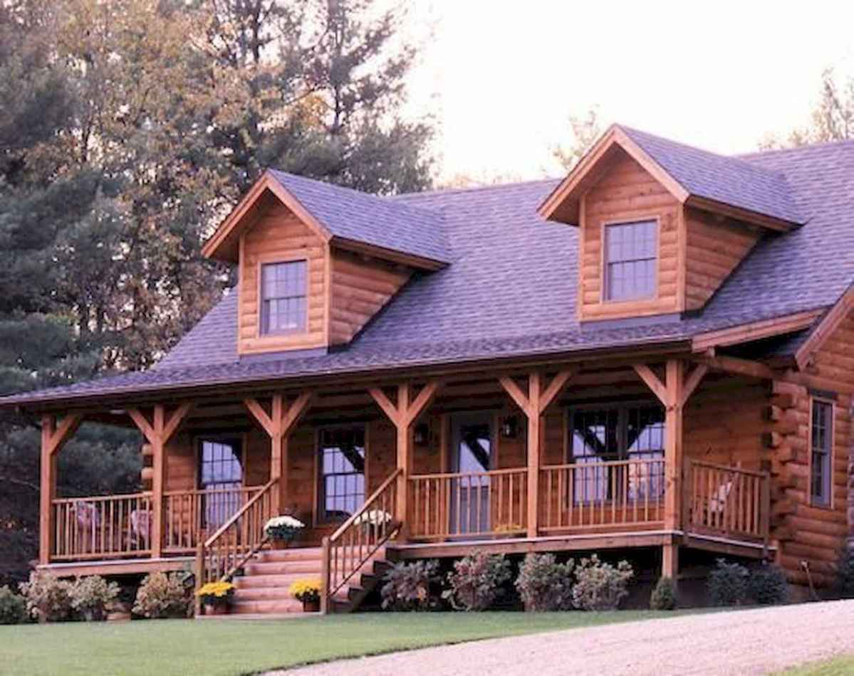 75 Great Log Cabin Homes Plans Design Ideas (26)