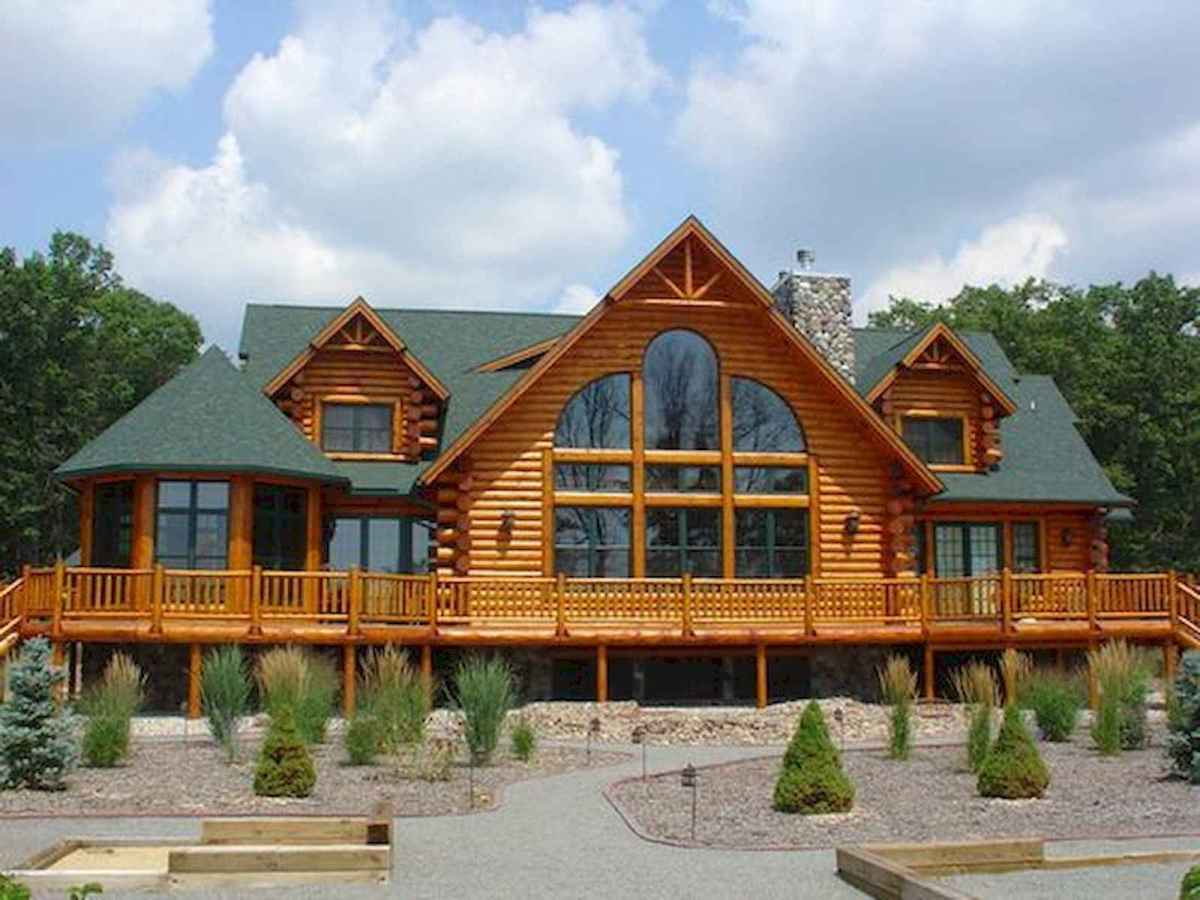 75 Great Log Cabin Homes Plans Design Ideas (31)