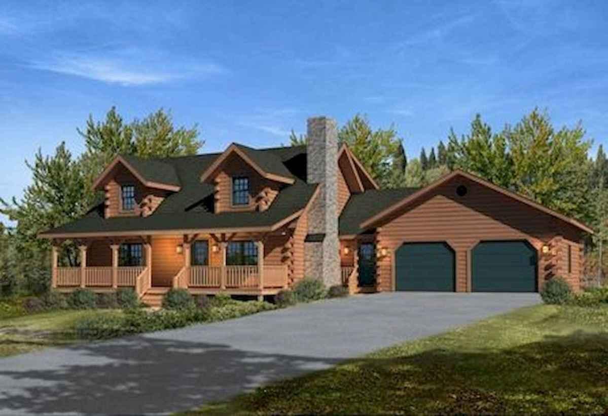 75 Great Log Cabin Homes Plans Design Ideas (36)