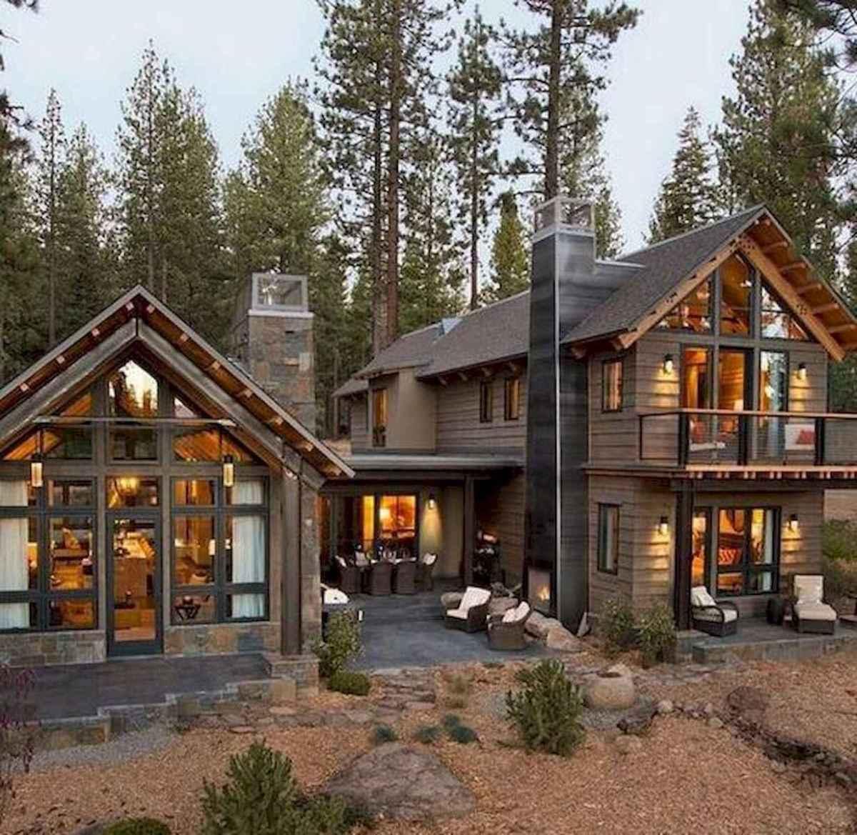 75 Great Log Cabin Homes Plans Design Ideas (59)