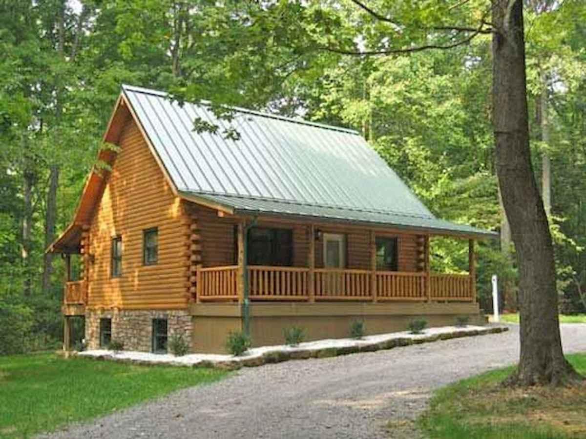 75 Great Log Cabin Homes Plans Design Ideas (62)