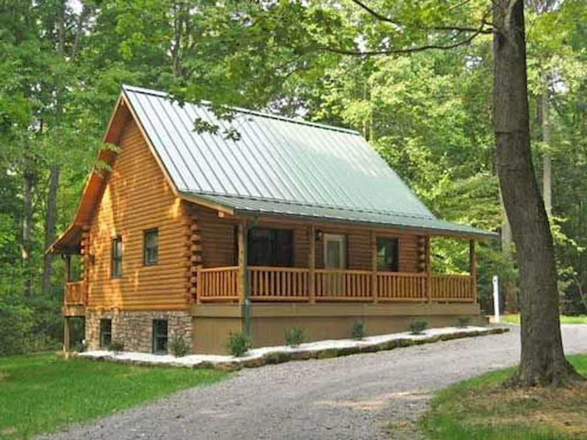 75 Great Log Cabin Homes Plans Design Ideas (62)