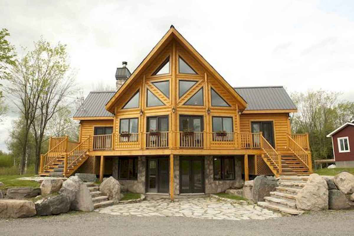 75 Great Log Cabin Homes Plans Design Ideas (74)