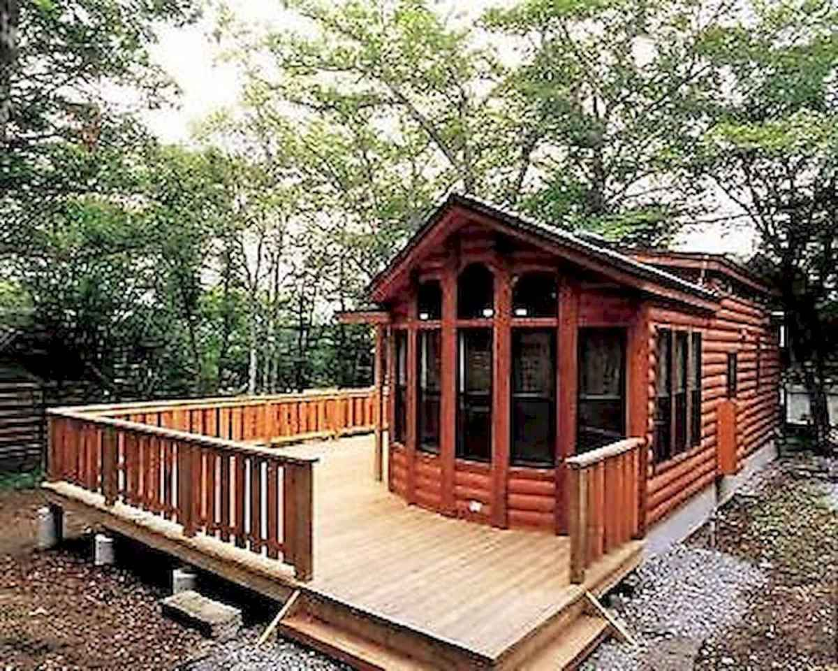 75 Great Log Cabin Homes Plans Design Ideas (9)