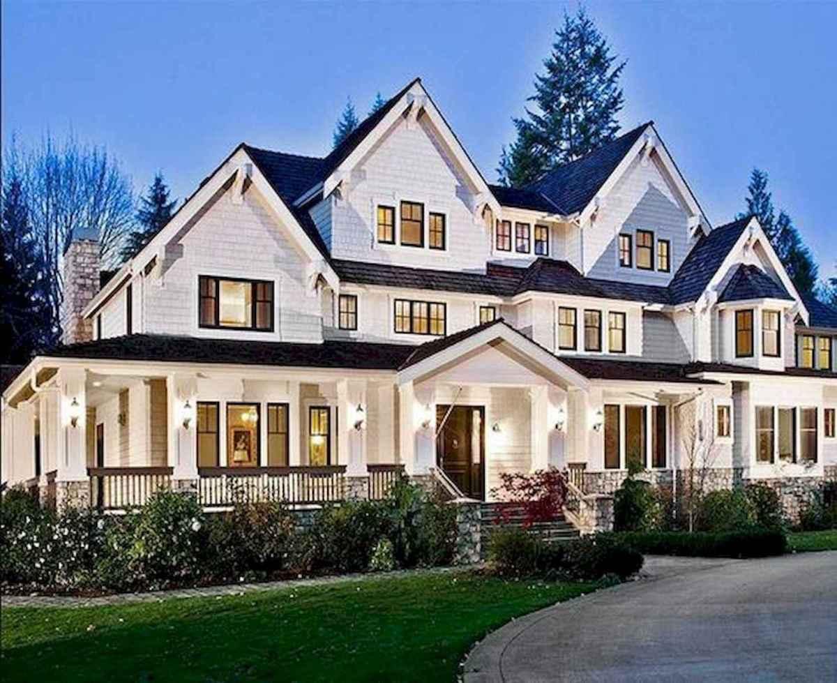 40 Fantastic Dream Home Exterior Design Ideas (36)