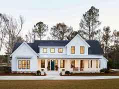 40 Fantastic Dream Home Exterior Design Ideas (6)