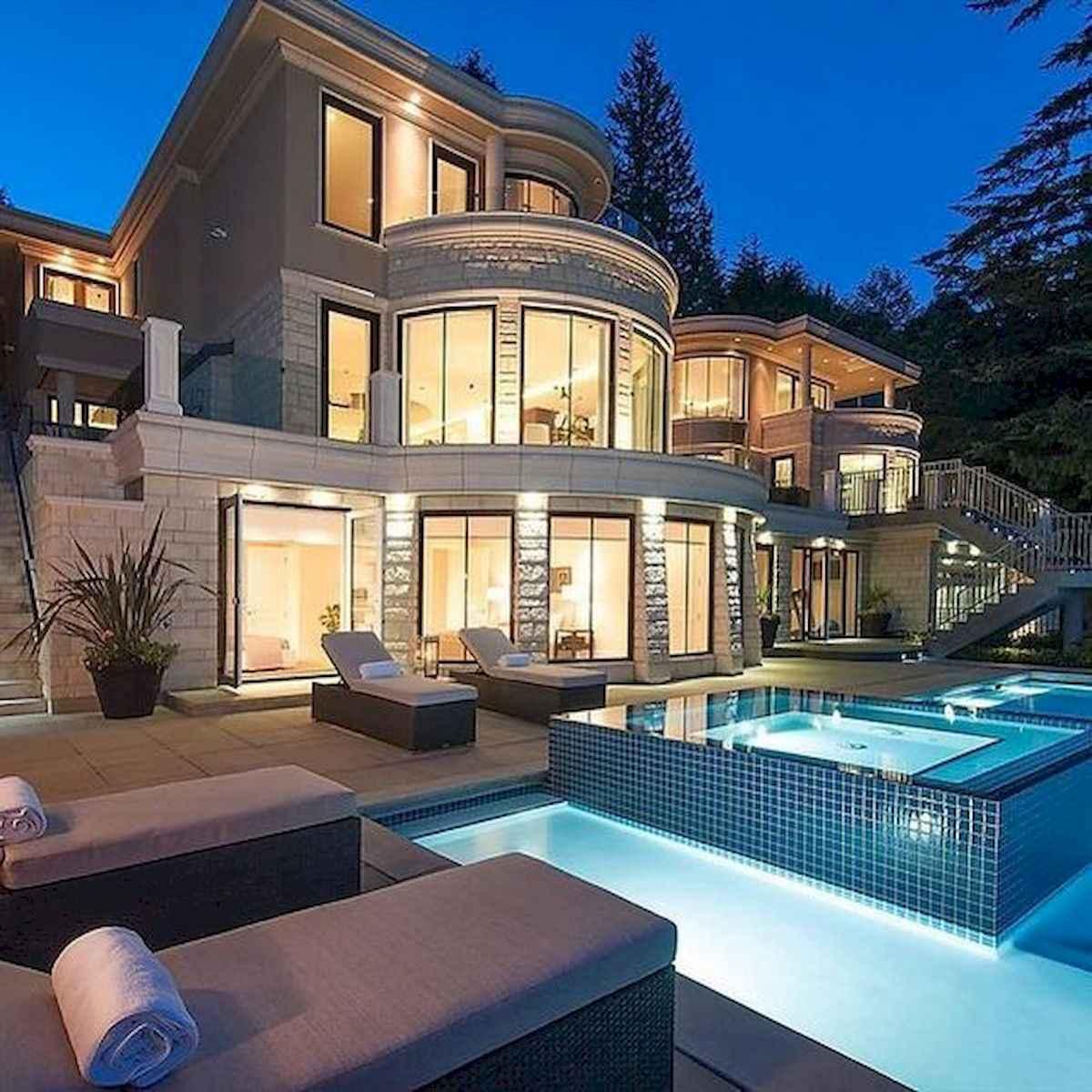 40 Stunning Mansions Luxury Exterior Design Ideas (20)