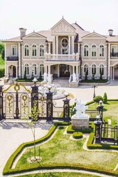 40 Stunning Mansions Luxury Exterior Design Ideas (25)