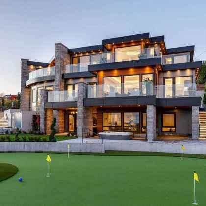 40 Stunning Mansions Luxury Exterior Design Ideas (34)