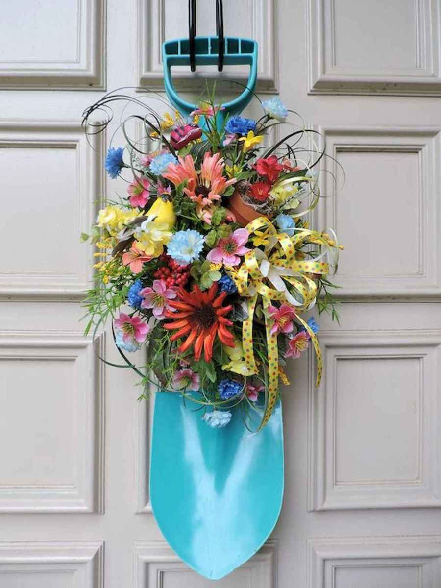 60 Favorite Spring Wreaths for Front Door Design Ideas And Decor (16)
