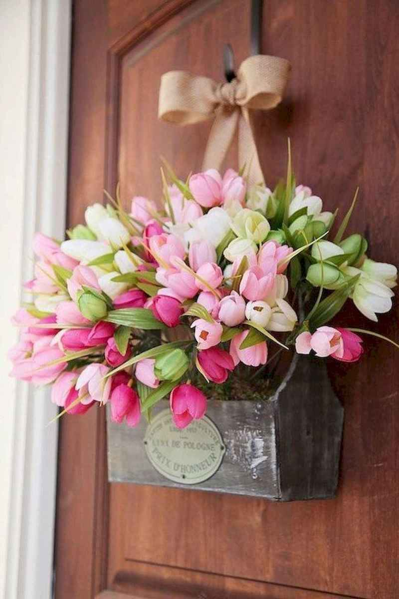 60 Favorite Spring Wreaths for Front Door Design Ideas And Decor (21)
