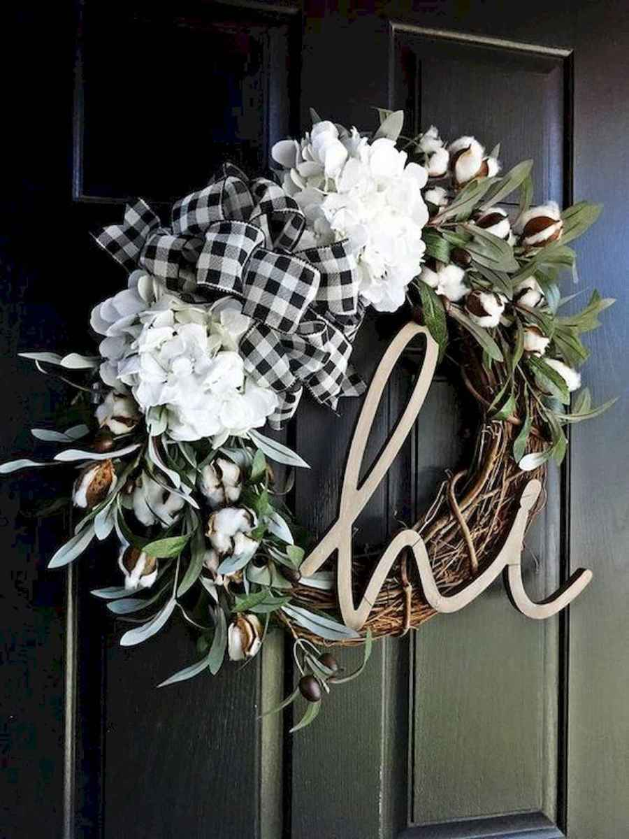 60 Favorite Spring Wreaths for Front Door Design Ideas And Decor (35)