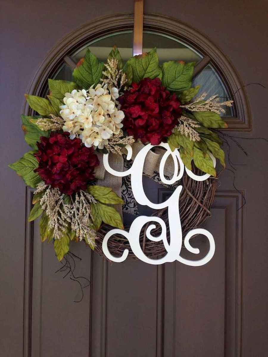 60 Favorite Spring Wreaths for Front Door Design Ideas And Decor (42)