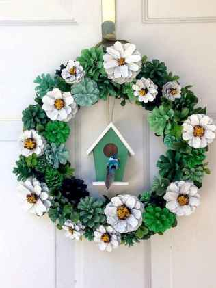 60 Favorite Spring Wreaths for Front Door Design Ideas And Decor (52)