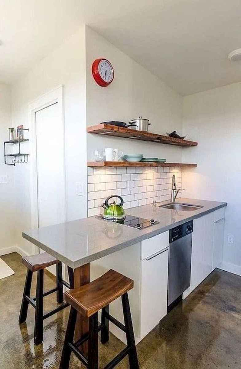 40+ Beautiful Studio Apartment Kitchen Decor Ideas And Remodel (17)