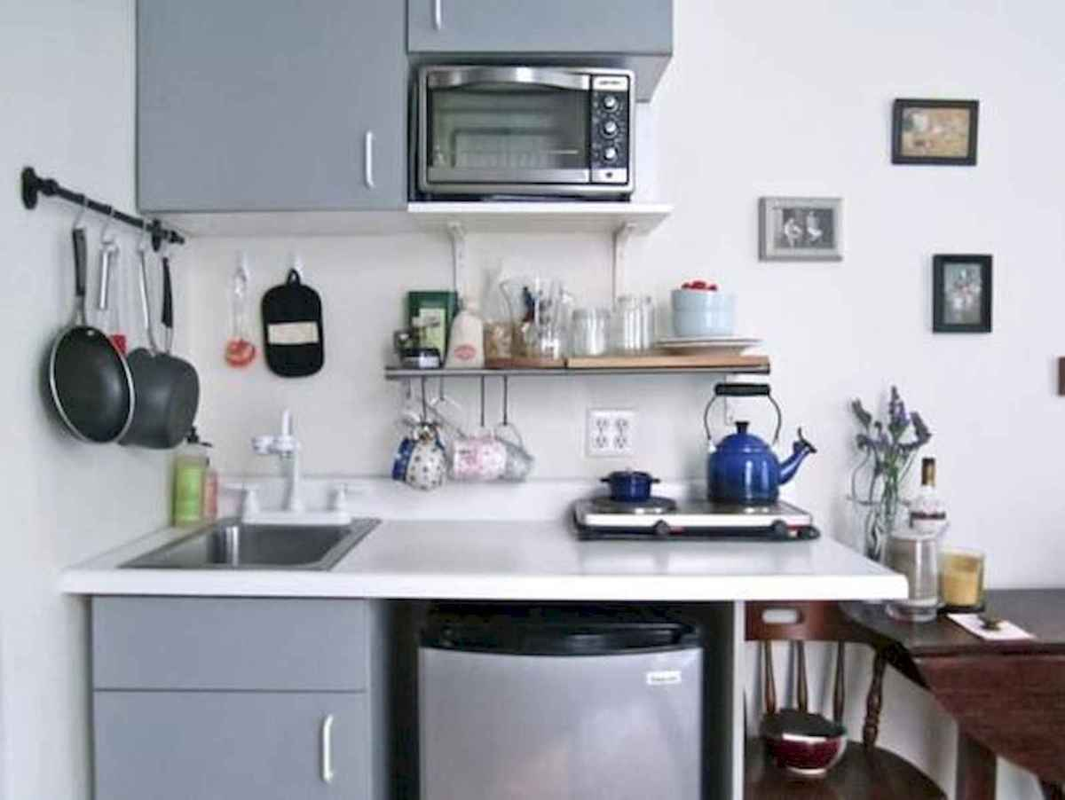 40+ Beautiful Studio Apartment Kitchen Decor Ideas And Remodel (18)