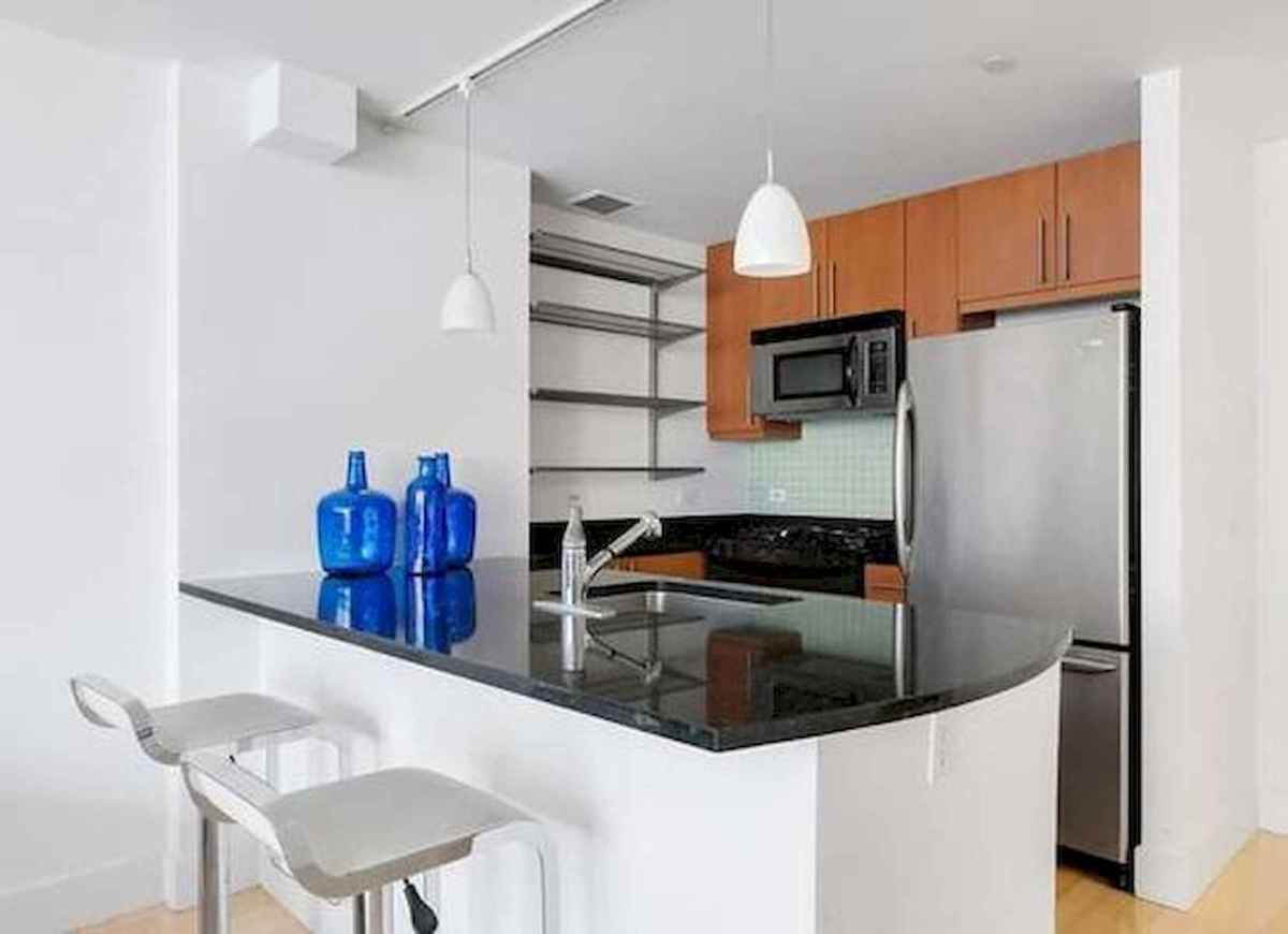 40+ Beautiful Studio Apartment Kitchen Decor Ideas And Remodel (23)