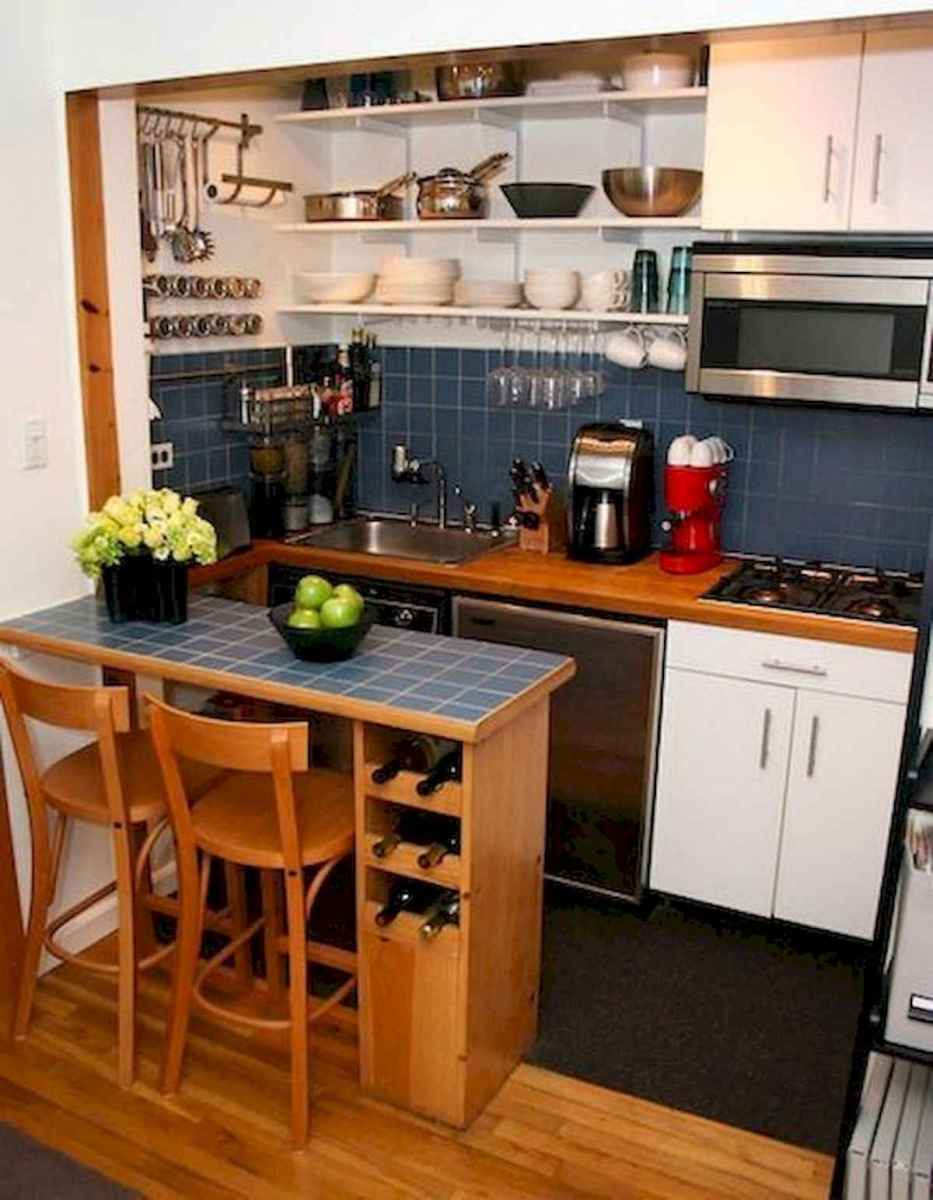 40+ Beautiful Studio Apartment Kitchen Decor Ideas And Remodel (9)