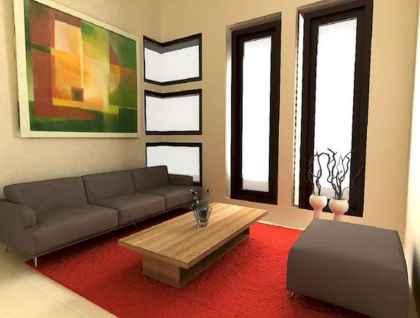 50+ Beautiful Small Living Room Decor Ideas And Remodel for Your First Apartment (19)