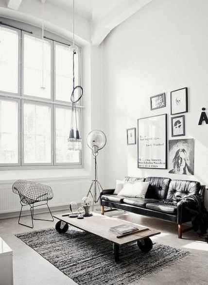 50+ Beautiful Small Living Room Decor Ideas And Remodel for Your First Apartment (55)