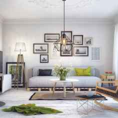 50+ Beautiful Small Living Room Decor Ideas And Remodel for Your First Apartment (7)