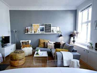 50+ Stunning Minimalist Studio Apartment Small Spaces Decor Ideas And Remodel (24)