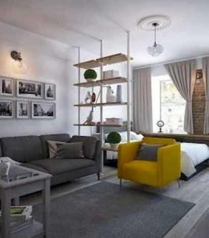 50+ Stunning Minimalist Studio Apartment Small Spaces Decor Ideas And Remodel (30)