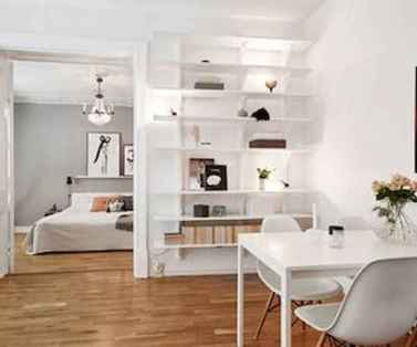 50+ Stunning Minimalist Studio Apartment Small Spaces Decor Ideas And Remodel (42)