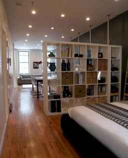 50+ Stunning Minimalist Studio Apartment Small Spaces Decor Ideas And Remodel (43)