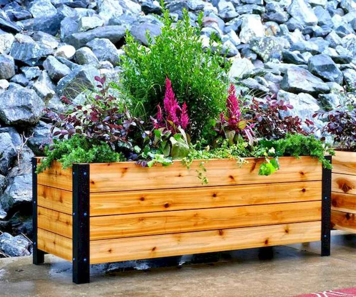 55 Favorite Garden Boxes Raised Design Ideas (29)