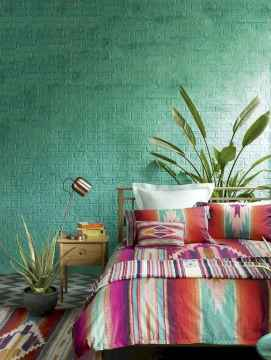70+ Awesome Colorful Bedroom Decor Ideas And Remodel for Summer Project (21)