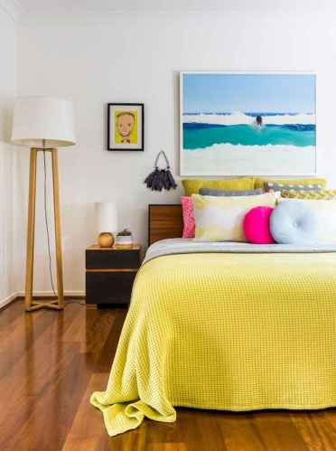 70+ Awesome Colorful Bedroom Decor Ideas And Remodel for Summer Project (28)