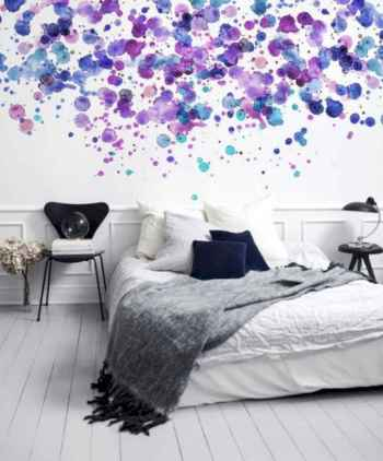 70+ Awesome Colorful Bedroom Decor Ideas And Remodel for Summer Project (45)