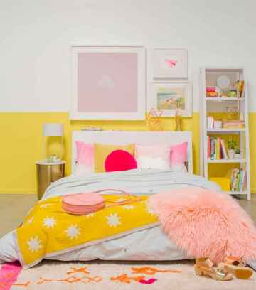 70+ Awesome Colorful Bedroom Decor Ideas And Remodel for Summer Project (66)
