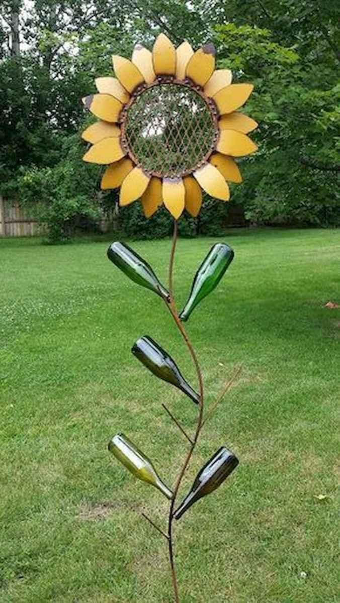 70 Best Metal Garden Art Design Ideas For Summer (11)