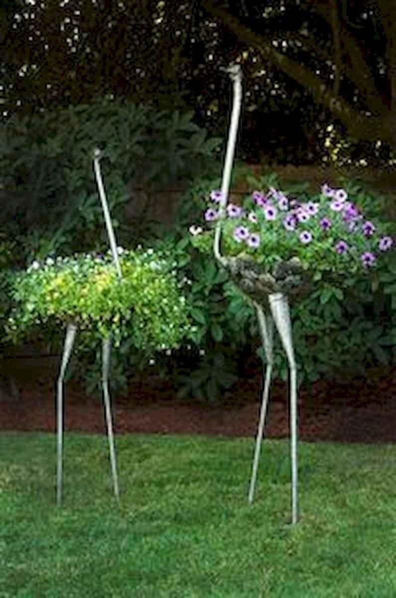 70 Best Metal Garden Art Design Ideas For Summer (23)
