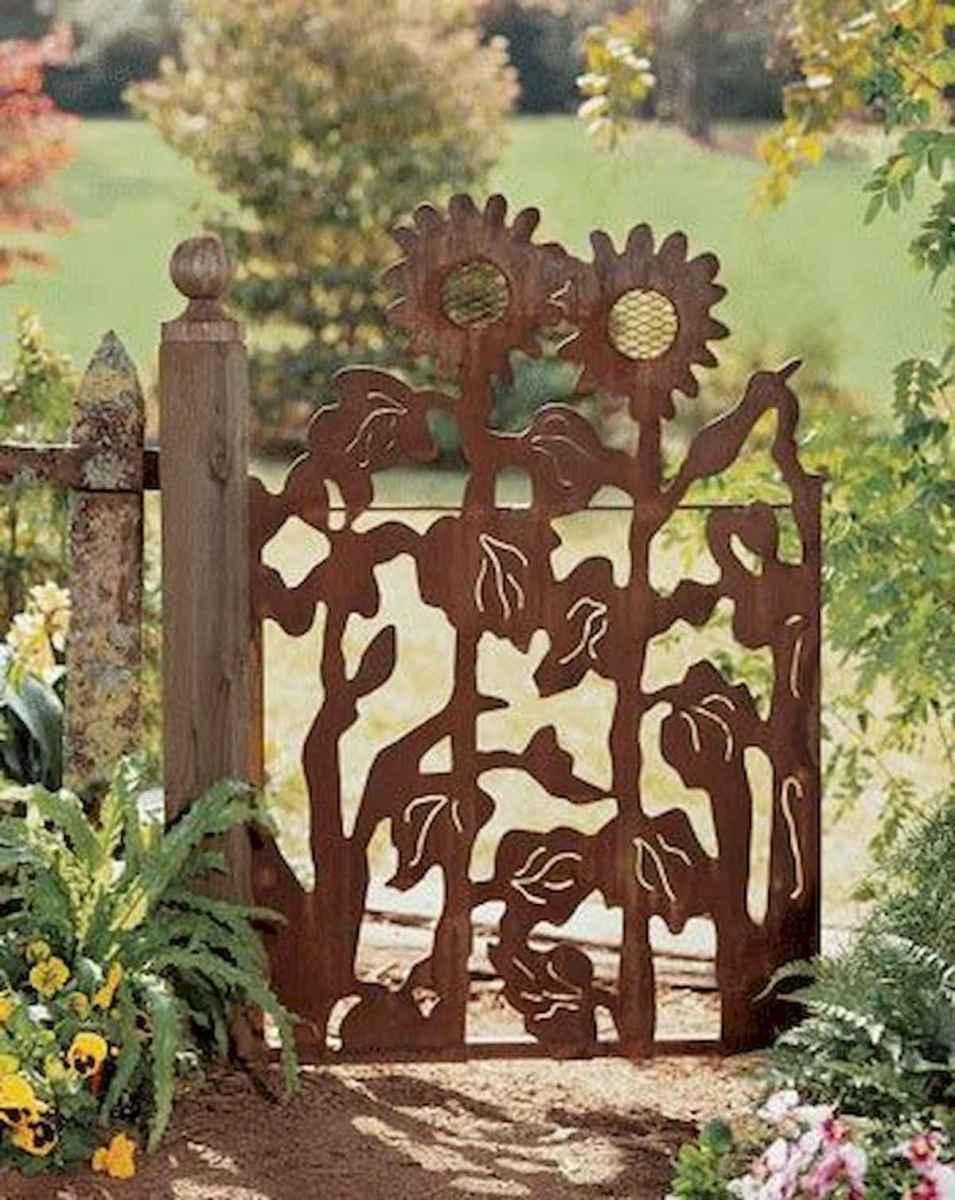 70 Best Metal Garden Art Design Ideas For Summer (43)