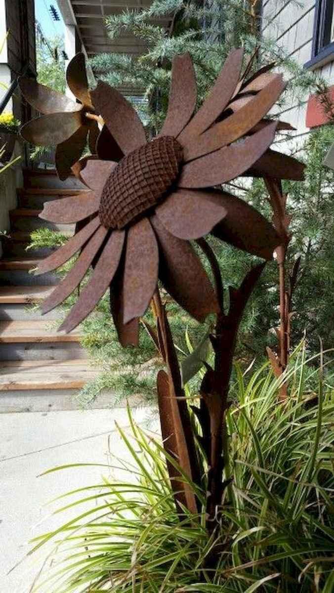 70 Best Metal Garden Art Design Ideas For Summer (7)