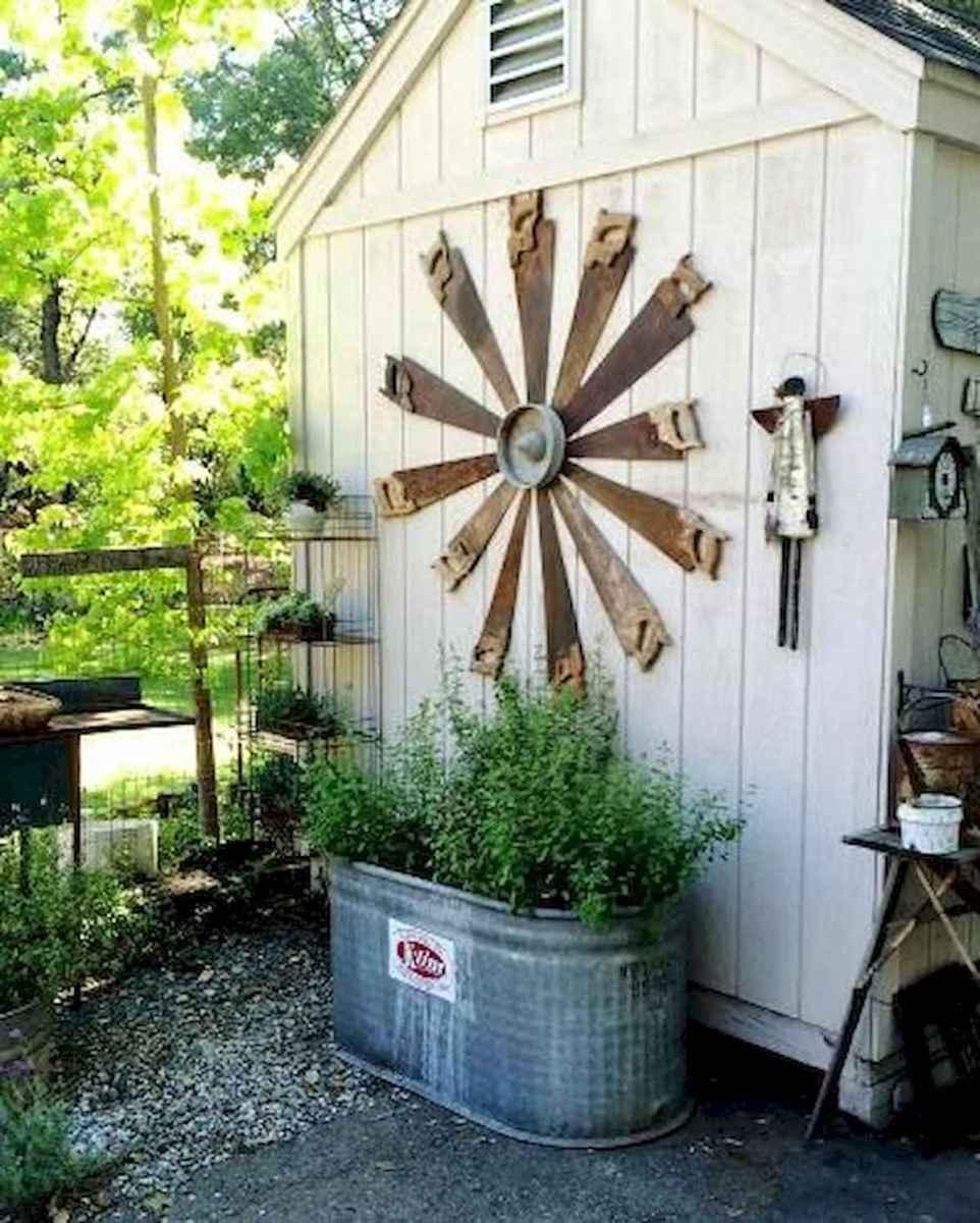 70 Creative and Inspiring Garden Art From Junk Design Ideas For Summer (18)