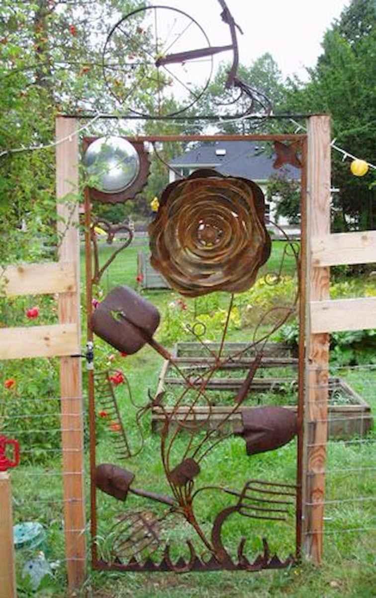 70 Creative and Inspiring Garden Art From Junk Design Ideas For Summer (39)