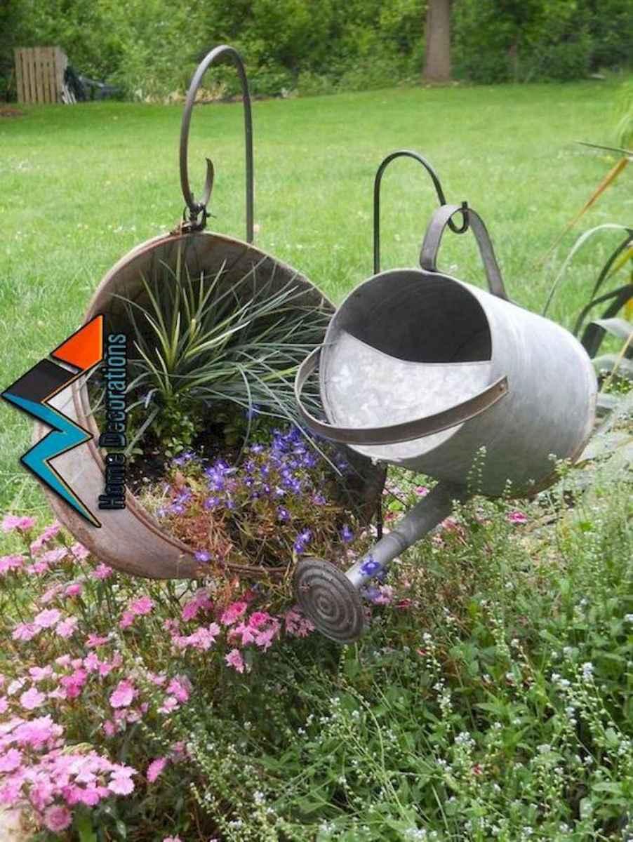 70 Creative and Inspiring Garden Art From Junk Design Ideas For Summer (49)
