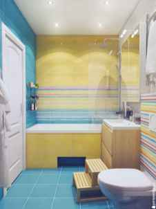 70+ Fantastic Colorful Bathroom Decor Ideas And Remodel for Summer Project (11)