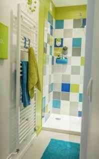 70+ Fantastic Colorful Bathroom Decor Ideas And Remodel for Summer Project (26)