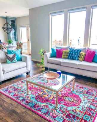 80+ Awesome Colorful Living Room Decor Ideas And Remodel for Summer Project (27)