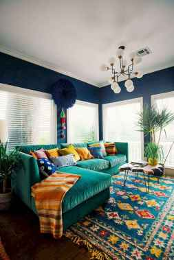 80+ Awesome Colorful Living Room Decor Ideas And Remodel for Summer Project (40)
