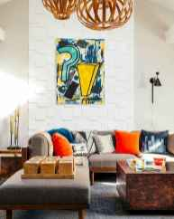 80+ Awesome Colorful Living Room Decor Ideas And Remodel for Summer Project (53)